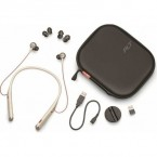 Casca bluetooth Plantronics VOYAGER 6200 UC, Multipoint, Adaptor USB BT600, SAND